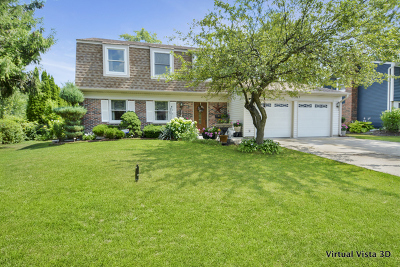 Schaumburg Single Family Home Re-Activated: 1307 Elgin Lane