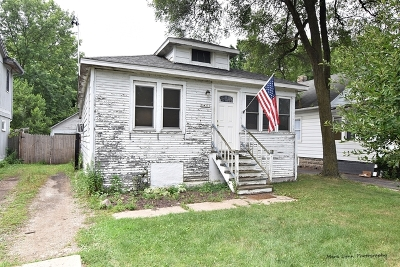 St. Charles Single Family Home For Sale: 35w333 Lambert Avenue