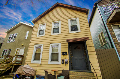 Multi Family Home For Sale: 1842 North Bissell Street