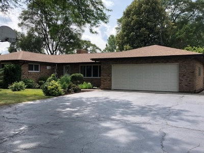 McHenry Single Family Home Contingent: 5515 Wilmot Road