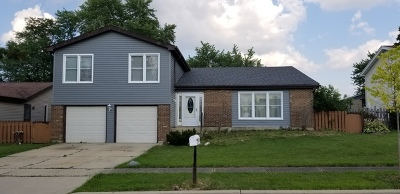 Glendale Heights Single Family Home For Sale: 1967 Towner Lane