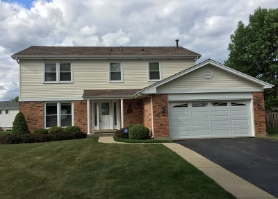 Schaumburg Single Family Home Price Change: 172 Old Mill Drive