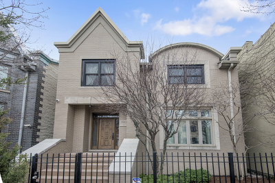 Single Family Home For Sale: 1641 North Hermitage Avenue