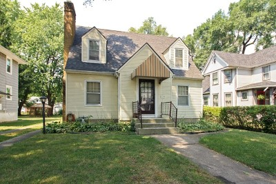 Kankakee Single Family Home For Sale: 645 South Wildwood Avenue South