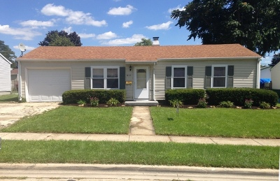 Romeoville Rental For Rent: 611 Iola Avenue