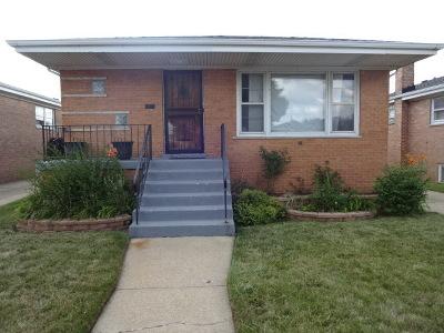 Calumet City  Single Family Home For Sale: 512 Saginaw Avenue