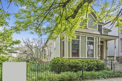 Single Family Home For Sale: 1517 West Barry Avenue