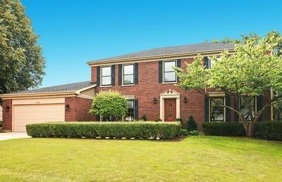 Hoffman Estates Single Family Home For Sale: 3966 Bordeaux Drive
