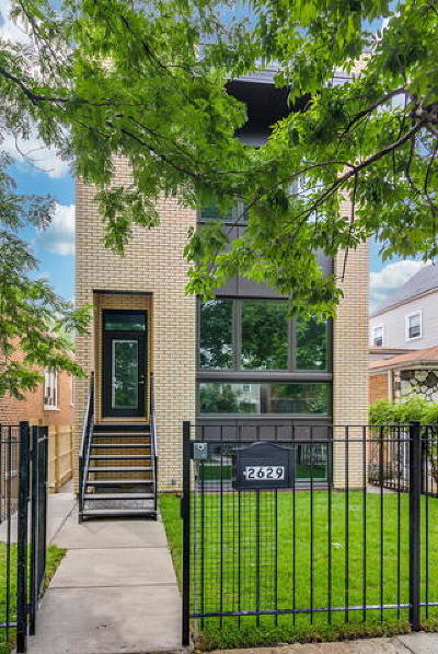 Single Family Home For Sale: 1853 North Fairfield Avenue