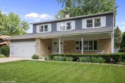 Mount Prospect Single Family Home For Sale: 1407 South Hickory Drive
