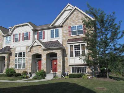 Carol Stream Condo/Townhouse For Sale: 259 Bennett Drive #259