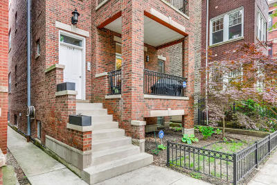 Condo/Townhouse For Sale: 1517 West Ardmore Avenue #1