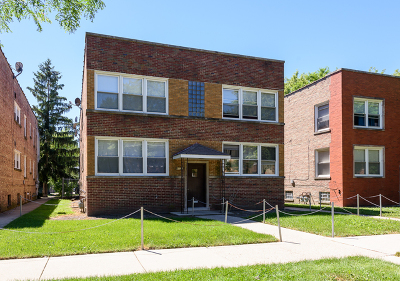 Skokie Multi Family Home For Sale: 8130 Knox Avenue