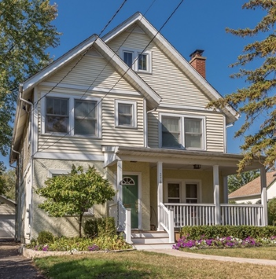 Glen Ellyn Single Family Home For Sale: 378 North Montclair Avenue