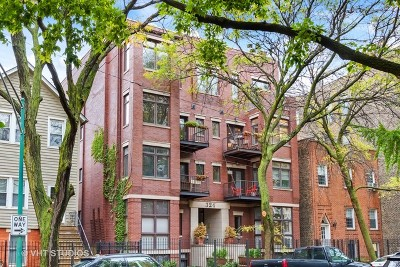 Condo/Townhouse For Sale: 324 West Evergreen Avenue #3E