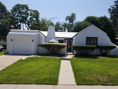 Elgin Single Family Home For Sale: 329 Congdon Avenue