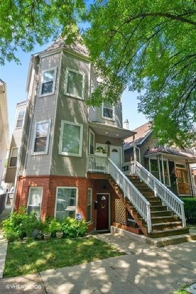 Condo/Townhouse For Sale: 3924 North Hermitage Avenue #3