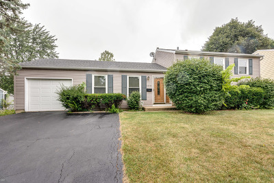 Schaumburg Single Family Home Price Change: 1510 Penrith Place