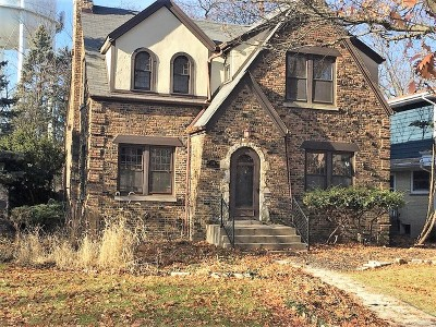 Flossmoor Single Family Home For Sale: 728 Gardner Road