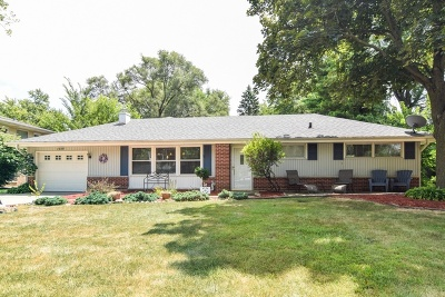 Wheaton Single Family Home For Sale: 1939 North Washington Street