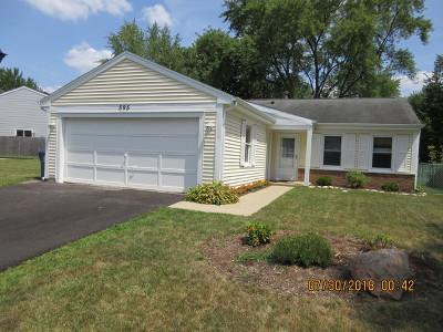 Roselle Single Family Home For Sale: 595 Middleton Drive