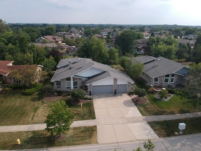 Orland Park Single Family Home Price Change: 11729 Brook Hill Drive