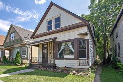 Blue Island  Single Family Home For Sale: 2455 Grove Street