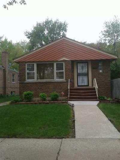 Calumet Park Single Family Home For Sale: 12500 South Paulina Street