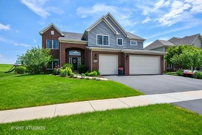 Geneva Single Family Home Price Change: 0n565 Morrill Drive