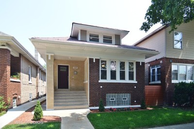 Chicago Single Family Home For Sale: 1637 North Monitor Avenue