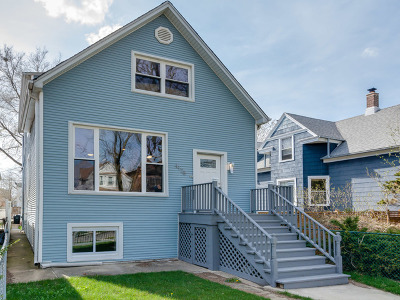 Single Family Home For Sale: 4128 North Lawndale Avenue