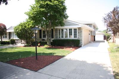 Norridge Single Family Home For Sale: 4816 North Leonard Drive