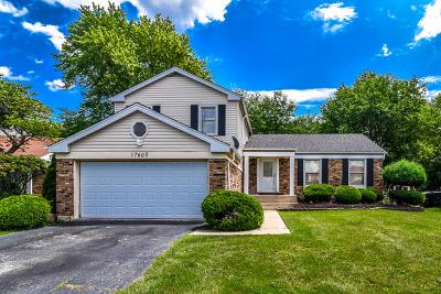 Hazel Crest Single Family Home For Sale: 17605 Stonebridge Drive