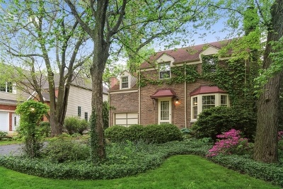 Downers Grove Single Family Home Price Change: 4829 Wallbank Avenue