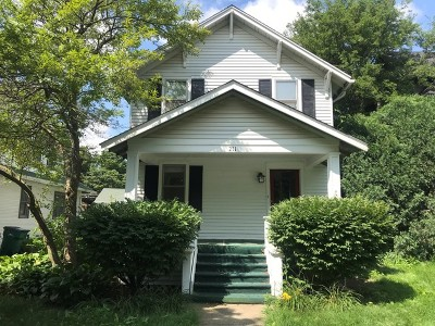 Naperville Single Family Home For Sale: 211 South Columbia Street