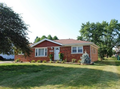 Palos Hills Single Family Home For Sale: 8632 West 99th Street