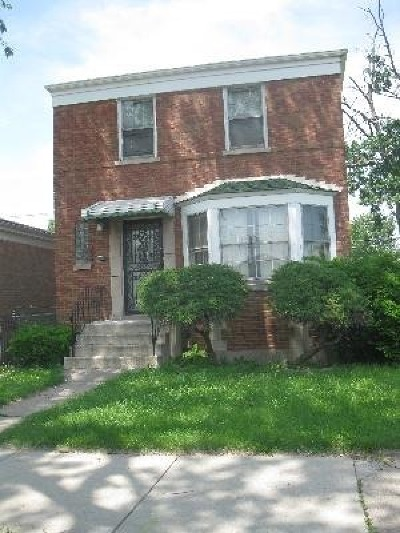 Chicago Single Family Home Re-Activated: 1244 West 115th Street