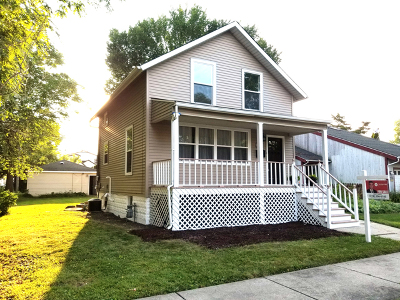 La Grange Single Family Home Price Change: 212 Sawyer Avenue
