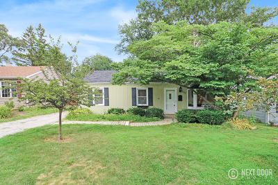 Wheaton Single Family Home For Sale: 1207 Campbell Avenue
