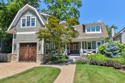 Glen Ellyn Single Family Home For Sale: 468 Hill Avenue