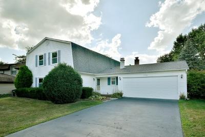 Hoffman Estates Single Family Home For Sale: 1780 Shorewood Drive West