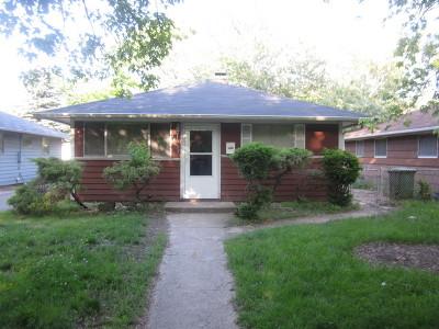 Dolton Single Family Home Price Change: 14731 Ellis Avenue