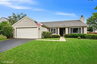 Carol Stream Single Family Home For Sale: 431 Essex Place
