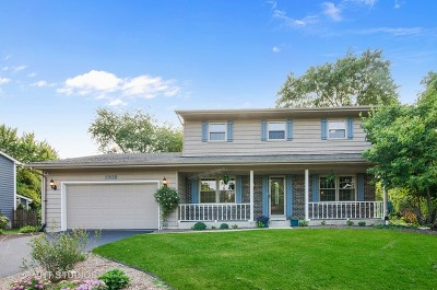 Algonquin Single Family Home Price Change: 1302 Cardinal Drive