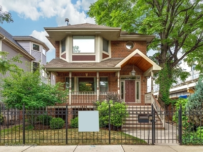 Single Family Home For Sale: 1824 West Larchmont Avenue