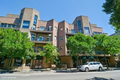Condo/Townhouse For Sale: 2236 West Armitage Avenue #404