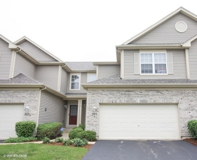 Elgin Condo/Townhouse For Sale: 535 Countryfield Lane