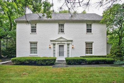 Lake Forest Single Family Home Price Change: 846 Highview Terrace