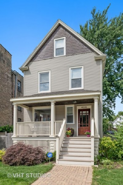 Single Family Home For Sale: 4028 North Central Park Avenue