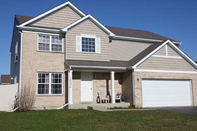 Crest Hill Single Family Home For Sale: 16534 Siegel Drive